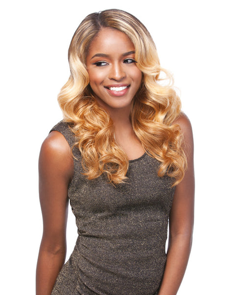 SYNTHETIC LACE FRONT WIG - HELENA, 2 WAY L-SHAPE PART