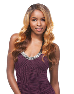 SYNTHETIC LACE FRONT WIG - VENUS, 2 WAY L-SHAPE PART