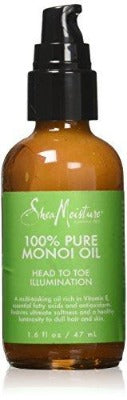 SHEA MOISTURE 100% PURE MONOI OIL HEAD TO TOE ILLUMINATION, 50 ML