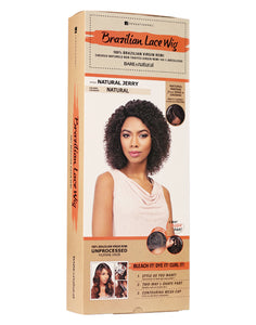 BARE & NATURAL BRAZILIAN LACE WIG - NATURAL JERRY