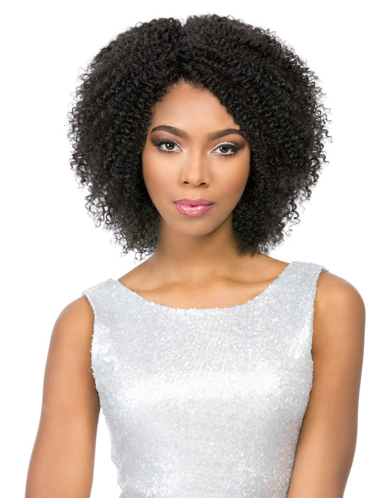 100% BRAZILIAN VIRGIN REMI LACE WIG NATURAL JERRY, 12/14""