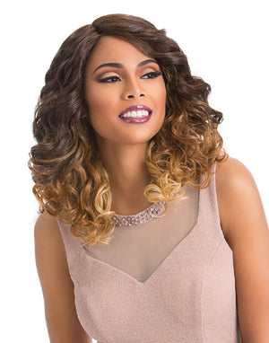 100% SYNTHETIC CUSTOM LACE FRONT WIG - GLAM LOOSE