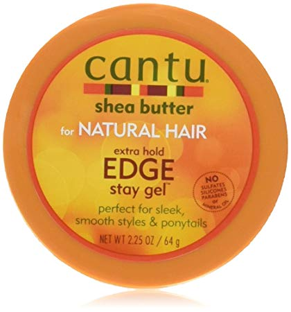 CANTU SHEA BUTTER EXTRA HOLD EDGE STAY GEL, 64 G