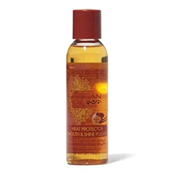 CREME OF NATURE ARGAN OIL HEAT PROTECTOR SMOOTH & SHINE POLISHER, 118 ML