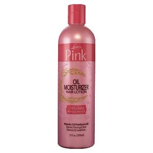 LUSTERS PINK ORIGINAL OIL MOISTURIZER HAIR LOTION, 355 ML