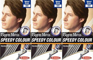 BIGEN MENS - SPEEDY COLOUR, NATURAL BROWN, NATURAL BLACK