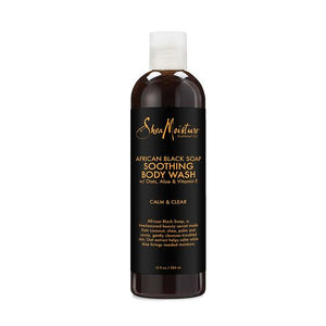 SHEA MOISTURE - AFRICAN BLACK SOAP SOOTING BODY WASH 384 ML