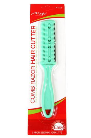 COMB RAZOR HAIR CUTTER - ASSORTED COLORS