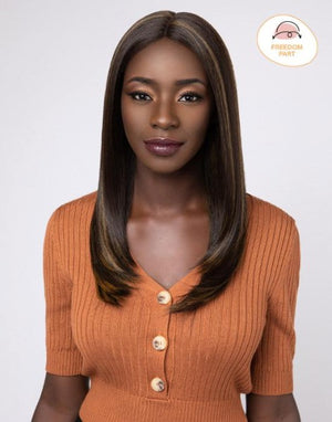100% SYNTHETIC LACE WIG CLASSIC FLIP, 21""
