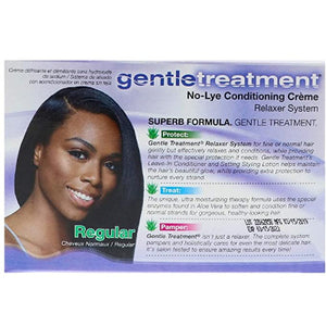 GENTLE TREATMENT NO-LYE CONDITIONING RELAXER SYSTEM REGULAR