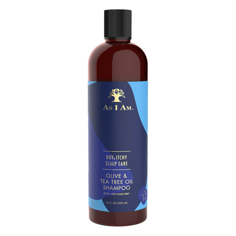 DRY & ITCHY OLIVE & TEA TREE SHAMPOO, 355 ML