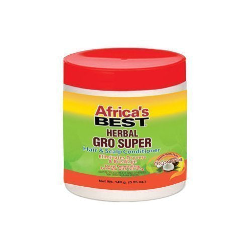 AFRICAS BEST HERBAL GRO SUPER HAIR & SCALP CONDITIONER, 175 ML