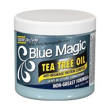 BLUE MAGIC TEA TREE OIL LEAVE-IN, 390 G