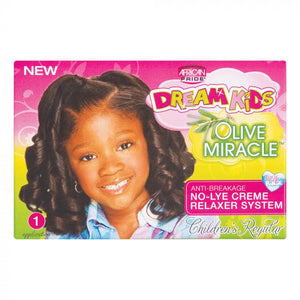 AFRICAN PRIDE - OLIVE MIRACLE DREAM KIDS NO-LYE CREME RELAXER SYSTEM
