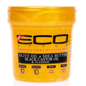 ECO STYLE - GOLD GEL, 473 ML