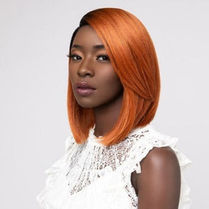 100% SYNTHETIC LACE WIG CHIC LOB, 12""