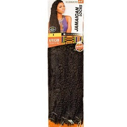 100% SYNTHETIC TWIST BRAID AFRICAN COLLECTION JAMAICAN LOCKS, 44""