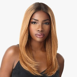 100% HUMAN HAIR MULTI PARTING LACE WIG - JOELLE, 19""