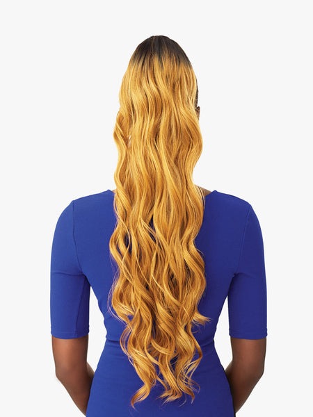 100% SYNTHETIC OCEAN WAVE INSTANT PONYTAIL, 30""