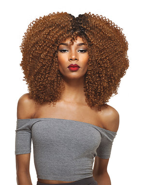 BIG BEAUTIFUL HAIR - PURPLE PACK 3C-WHIRLY, ONE PACK SOLUTION