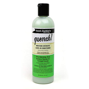 AUNT JACKIES CURLS & COILS QUENCH! MOISTURE INTENSIVE LEAVE-IN CONDITIONER, 355 ML