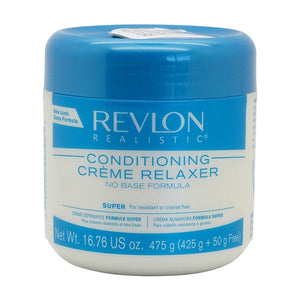 REVLON - REALISTIC CONDITIONING CREME RELAXER, SUPER