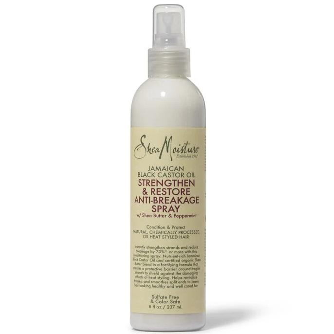 SHEA MOISTURE JAMAICAN BLACK CASTOR OIL STRENGTHEN & RESTORE ANTI-BREAKAGE SPRAY, 237 ML