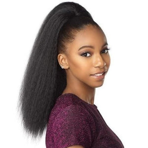 100% SYNTHETIC INSTANT PONY YAKI PERM, 18""