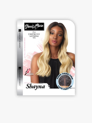 100% SYNTHETIC LACE WIG DEEP LACE PARTING SHAYNA, 16""