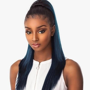 100% SYNTHETIC INSTANT PONY SLEEK STRAIGHT, 24""