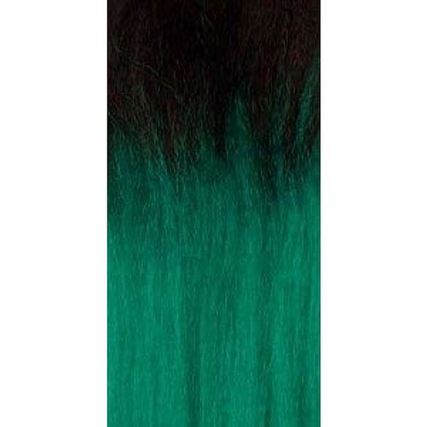 African Collection - Color Braid - T1B/emerald - Hair Extensions