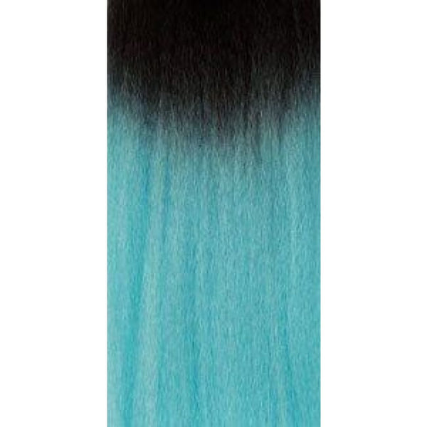 African Collection - Color Braid - T1B/pastelblue - Hair Extensions