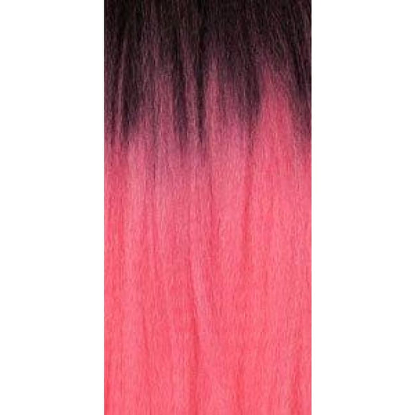 African Collection - Color Braid - T1B/pink - Hair Extensions