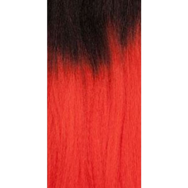 African Collection - Color Braid - T1B/red - Hair Extensions
