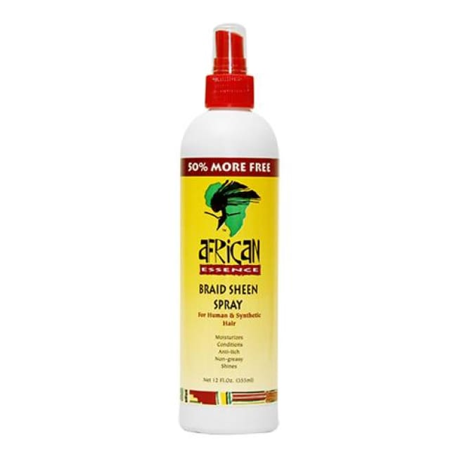 AFRICAN ESSENCE BRAID SHEEN SPRAY, 355 ML - Visons Hair & Cosmetics Butik