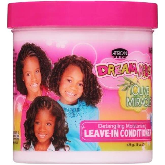 AFRICAN PRIDE - DREAM KIDS OLIVE MIRACLE DETANGLING MOISTURIZING LEAVE-IN CONDITIONER, 425 G - Visons Hair & Cosmetics Butik