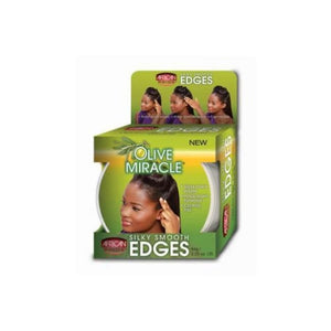 AFRICAN PRIDE - OLIVE  MIRACLE SILKY SMOOTH EDGES, 64 G - Visons Hair & Cosmetics Butik