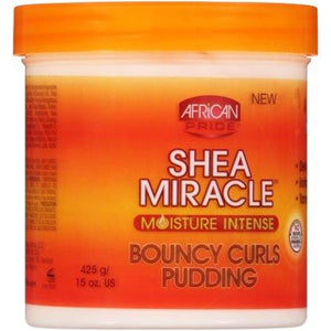 AFRICAN PRIDE - SHEA MIRACLE BOUNCY CURLS PUDDING, 425 G - Visons Hair & Cosmetics Butik