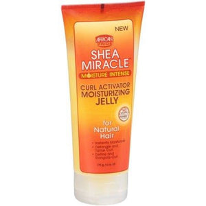 AFRICAN PRIDE - SHEA MIRACLE MOISTURE INTENSE CURL ACTIVATOR MOISTURIZING JELLY, 170 G - Visons Hair & Cosmetics Butik
