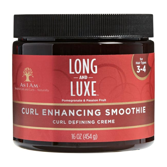 AS I AM - LONG AND LUXE POMEGRANATE & PASSION FRUIT CURL ENHANCING SMOOTHIE, 454 G - Visons Hair & Cosmetics Butik