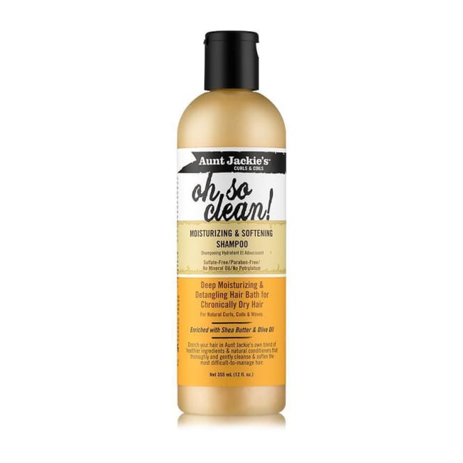 AUNT JACKIE´S - CURLS & COILS OH SO CLEAN! MOISTURIZING & SOFTENING SHAMPOO, 355 ML - Visons Hair & Cosmetics Butik
