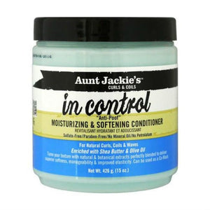 "AUNT JACKIE´S - IN CONTROL! ""ANTI-PROOF"" MOISTURIZING & SOFTENING CONDITIONER, 426 G - Visons Hair & Cosmetics Butik"
