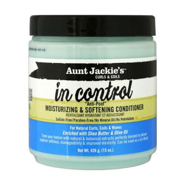 AUNT JACKIES IN CONTROL MOISTURIZING & SOFTENING CONDITIONER, 426 G