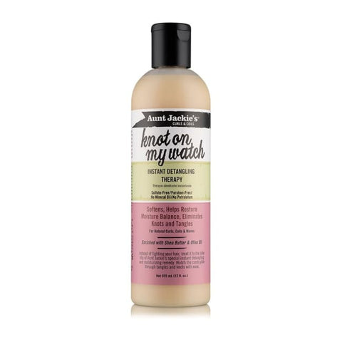 AUNT JACKIE´S - KNOT ON MY WATCH INSTANT DETANGLING THERAPY, 355 ML - Visons Hair & Cosmetics Butik