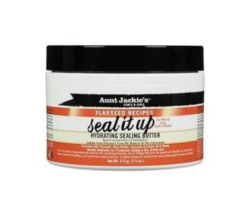 AUNT JACKIES FLAXSEED SEAL IT UP HYDRATING SEALING BUTTER, 213 G