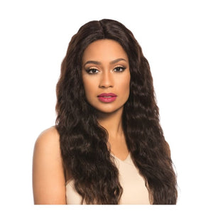 BARE & NATURAL BRAZILIAN SWISS 4X4 LACE WIG - LOOSE WAVE, 25 INCHES - Visons Hair & Cosmetics Butik