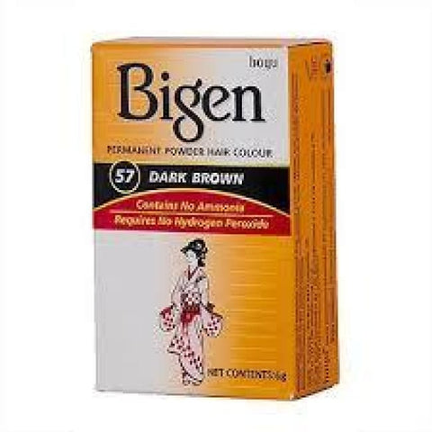 BIGEN PERMANENT POWDER HAIR COLOUR - Visons Hair & Cosmetics Butik
