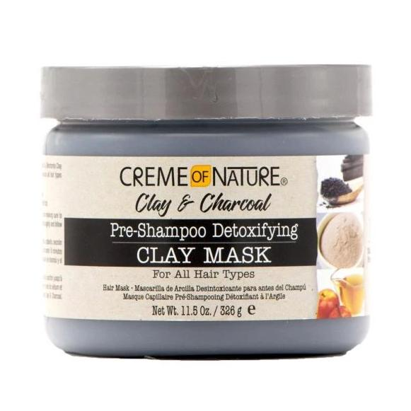 CREME OF NATURE PRE-SHAMPOO DETOXIFYING CLAY MASK, 326 G