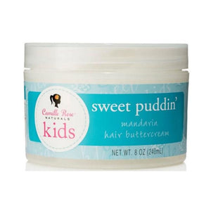 CAMILLE ROSE NATURALS KIDS - SWEET PUDDIN MANDARIN HAIR BUTTERCREAM, 240 ML - Visons Hair & Cosmetics Butik