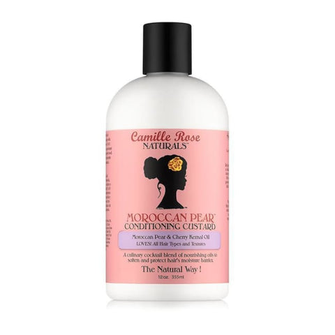 CAMILLE ROSE NATURALS - MOROCCAN PEAR CONDITIONING CUSTARD, 355 M - Visons Hair & Cosmetics Butik